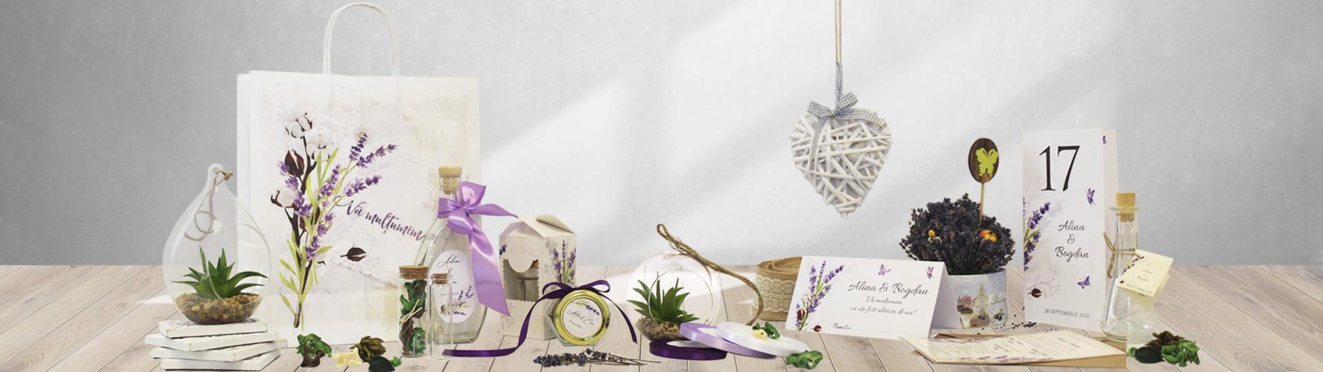 Banner lavanda