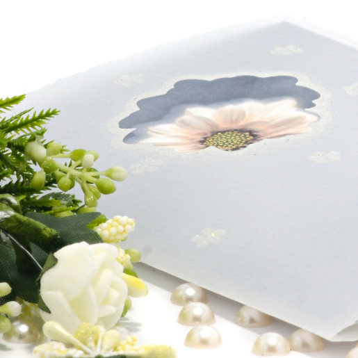 Invitatie de nunta cu margareta si calc 115401 TBZ