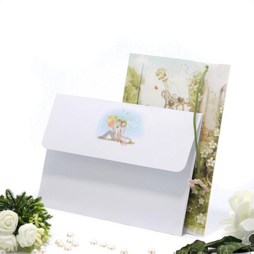 Invitatie de nunta haInvitatie de nunta haioasa Romeo si Julieta 115406 TBZioasa verde si maro 115406 TBZ