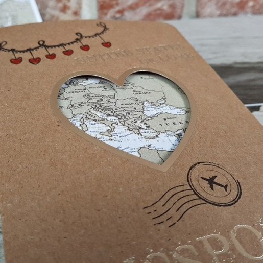 Invitatie de nunta pasaport 11548 CONCEPT