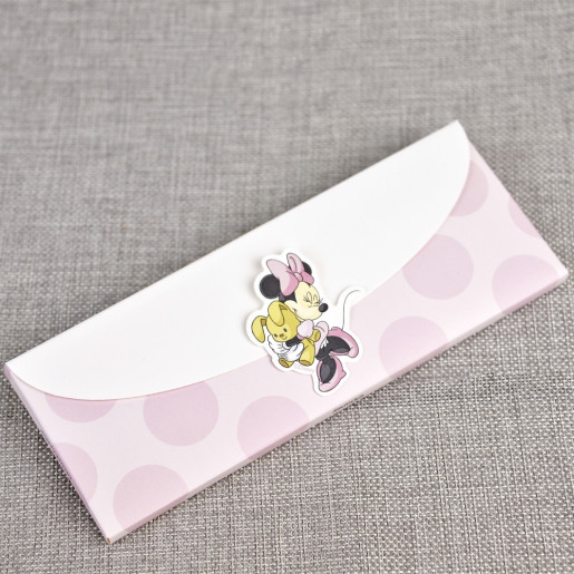 Invitatie de botez cu Minnie Mouse 15718 DELUXE