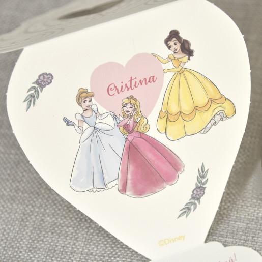Invitatie de botez cu Printesele Disney 15730 DELUXE