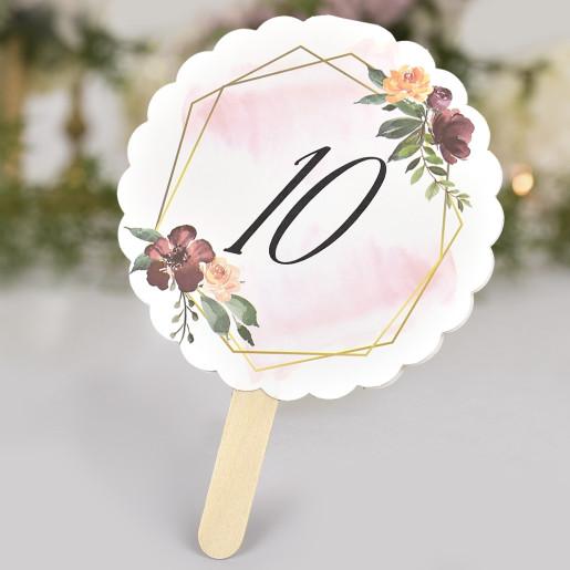 Numar de masa floral 1708 CLARA