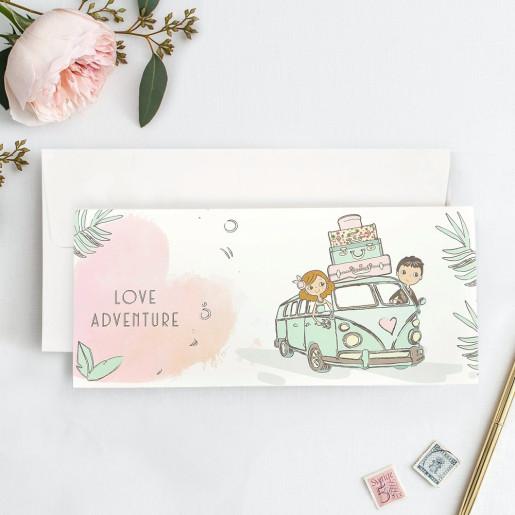 Invitatie Love Adventure 39739 CLARA
