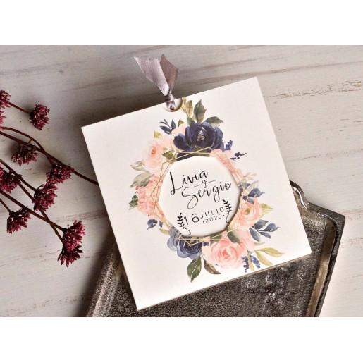 Invitatie cu trandafiri 39804 EMMA