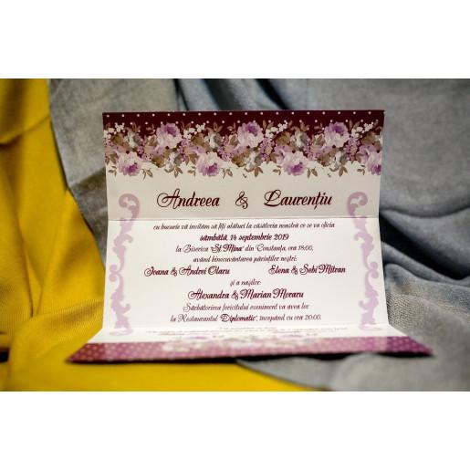 Invitatie de nunta 201 NEW BEST