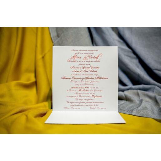 Invitatie de nunta 217 NEW BEST