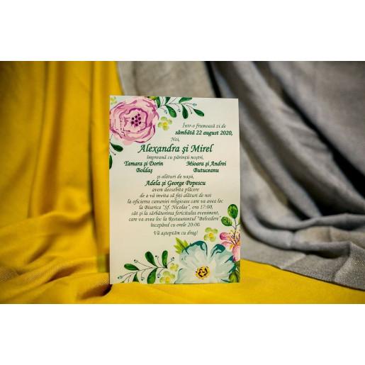 Invitatie de nunta 225 NEW BEST
