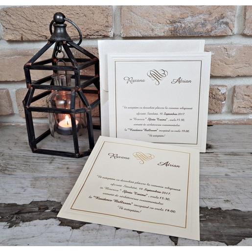 Invitatie de nunta 2541 POPULAR