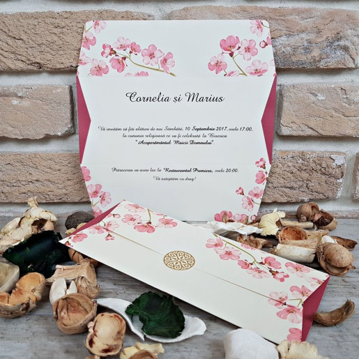 Invitatie de nunta 2673 POPULAR