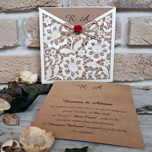 Invitatie de nunta 2676 POPULAR