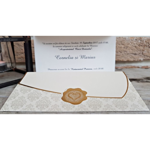 Invitatie de nunta 2715 POPULAR