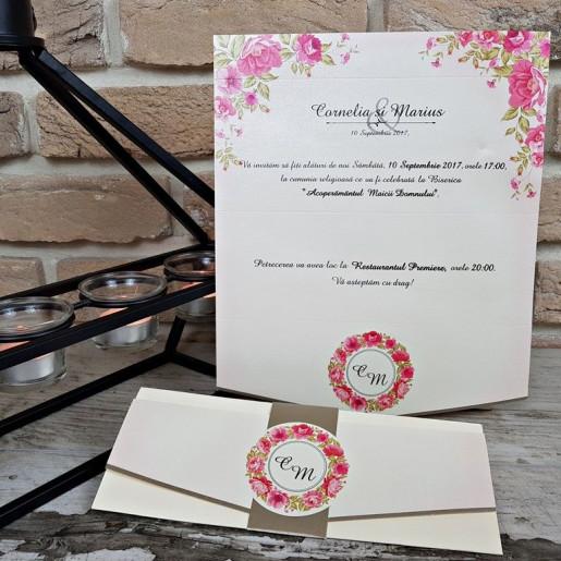 Invitatie de nunta 2719 POPULAR