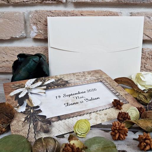 Invitatie de nunta 2737 POPULAR