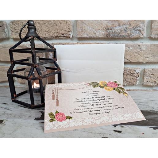 Invitatie de nunta 2744 POPULAR