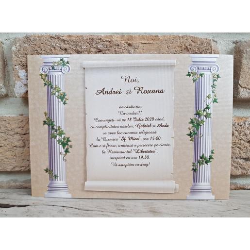 Invitatie de nunta 2749 POPULAR