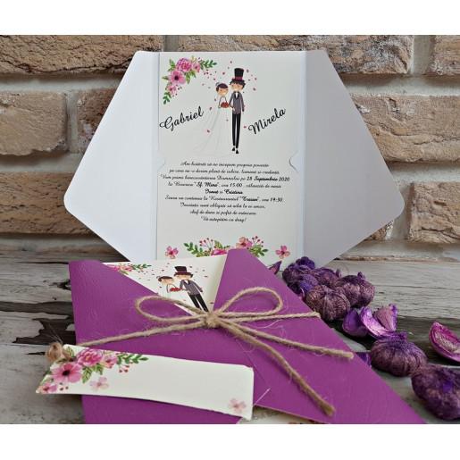 Invitatie de nunta 2752 POPULAR