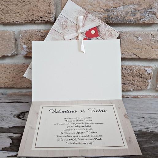 Invitatie de nunta 2755 POPULAR