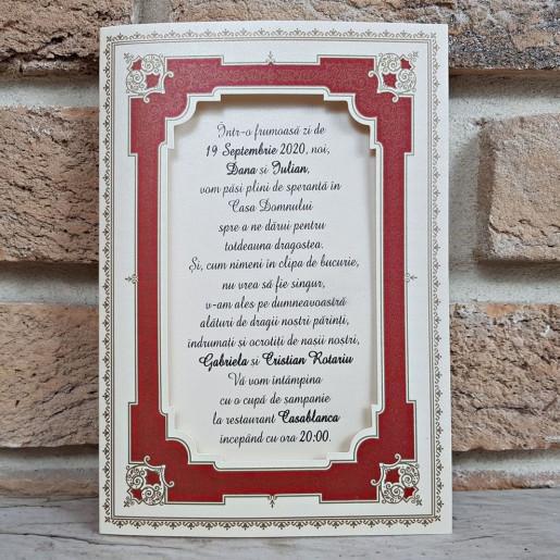 Invitatie de nunta 2756 POPULAR