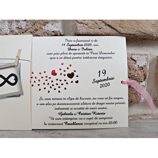 Invitatie de nunta 2761 POPULAR
