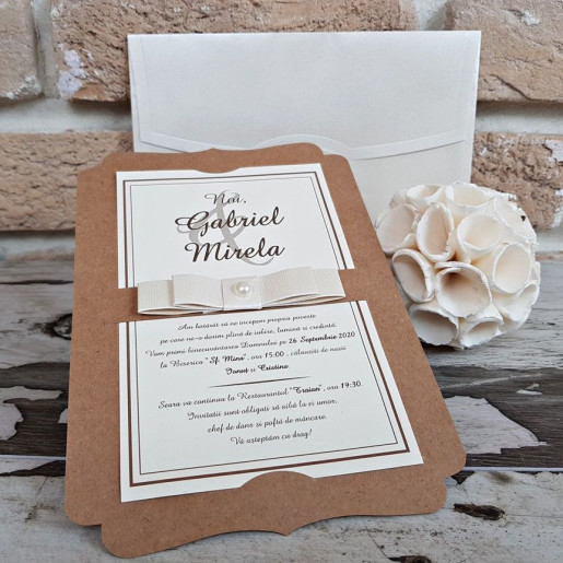 Invitatie de nunta 2764 POPULAR