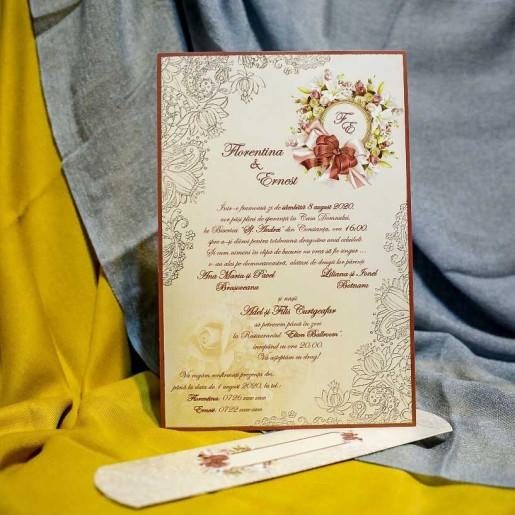 Invitatie de nunta 3221 NEW BEST