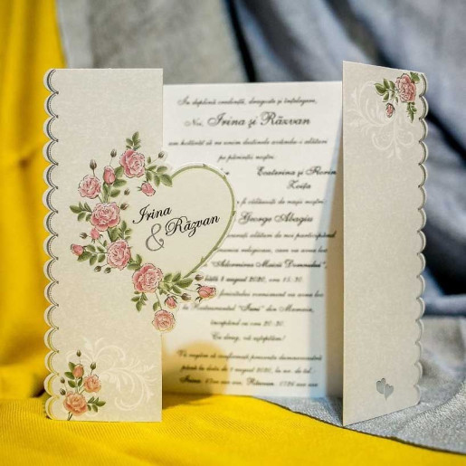 Invitatie de nunta 3282 NEW BEST