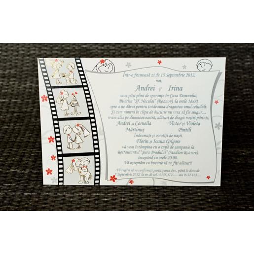 Invitatie de nunta model foto 35234 Polen