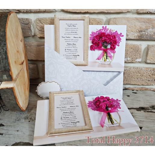 Invitatie de nunta eleganta 3714 SEDEF