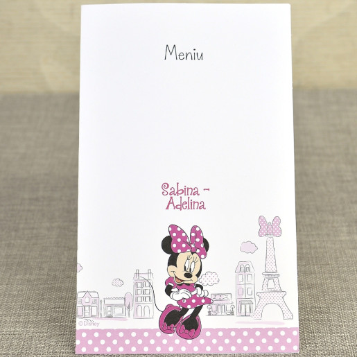 Meniu Minnie in Paris 3728 DELUXE
