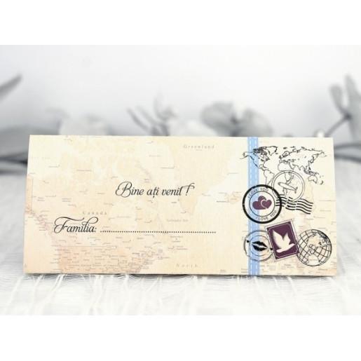 Plic de bani cu tematica travel 5223 CLARA