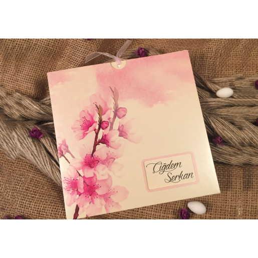 Invitatie cu flori 52534 ELA
