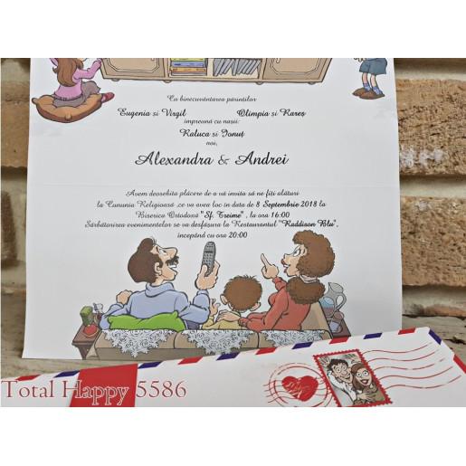 Invitatie de nunta 5586 CONCEPT