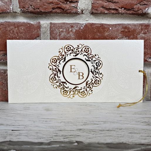 Invitatie de nunta in stil baroc 5589 CONCEPT