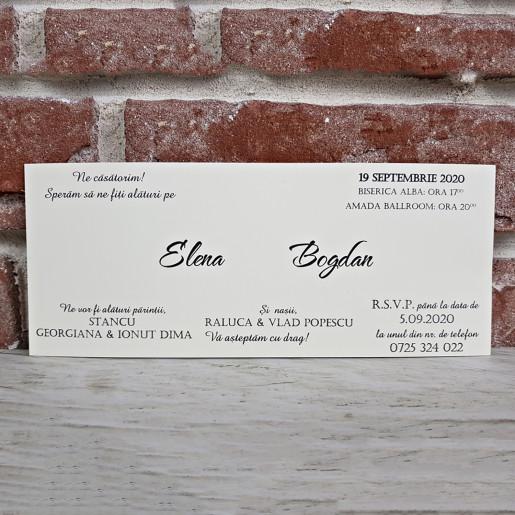 Invitatie de nunta moderna 5600 CONCEPT