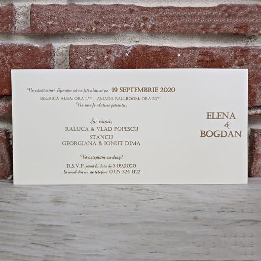 Invitatie de nunta deosebita 5661 CONCEPT