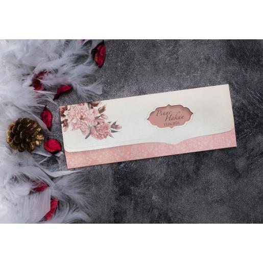 Invitatie de nunta florala 63643 ELITE