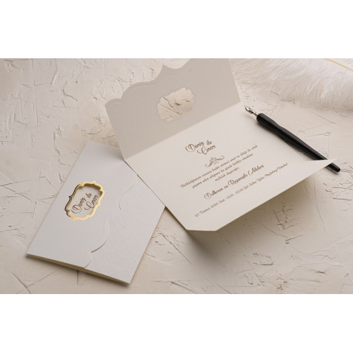 Invitatie de nunta glam 9106 EKONOM