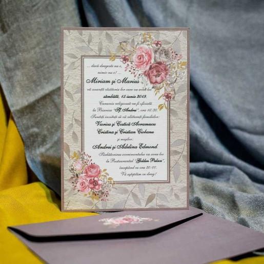 Invitatie de nunta 973 NEW BEST