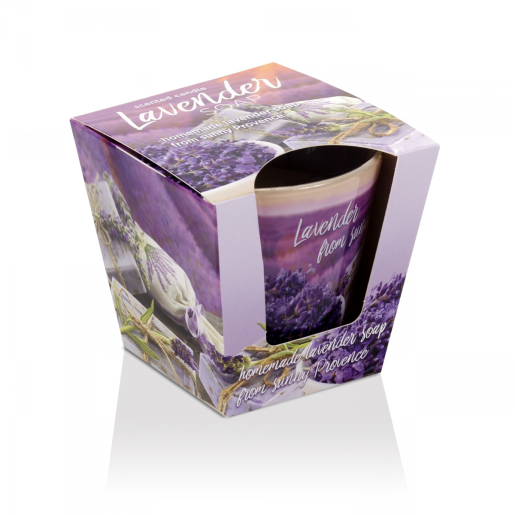 Lumanare parfumata Sapun de Lavanda 115 g BC5645