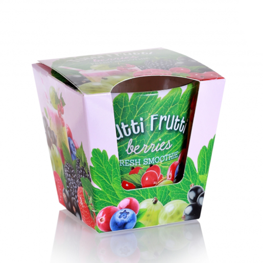 Lumanare parfumata tutti frutti fructe de padure 115 g BC6166