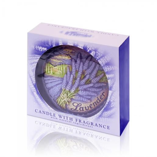 Lumanare parfumata Disc de Lavanda BC7192