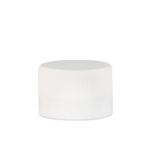 Capac plastic prefiletat alb D 28 mm