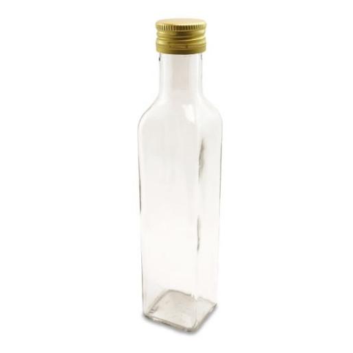 Sticla marturii 250 ml Cognac