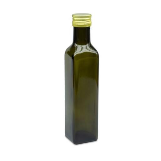 Sticla marturii 250 ml Cognac Verde