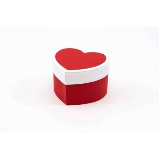 Cutie Inima Rosie din Carton CTC106