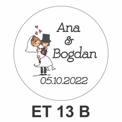 Eticheta pentru borcan ET 13 B