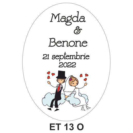 Eticheta pentru sticla ET 13 O