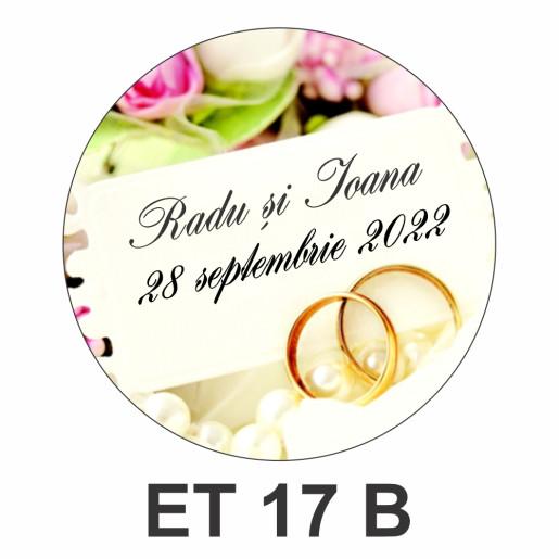 Eticheta pentru borcan ET 17 B