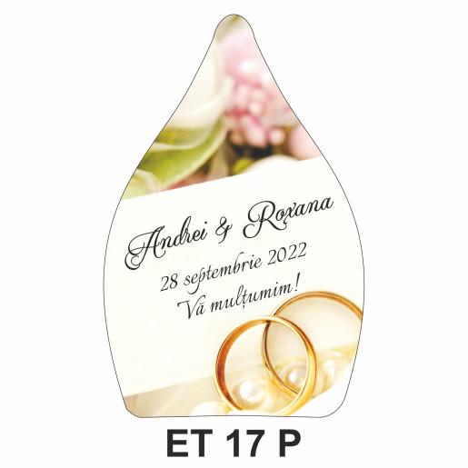 Eticheta pentru sticla ET 17 P